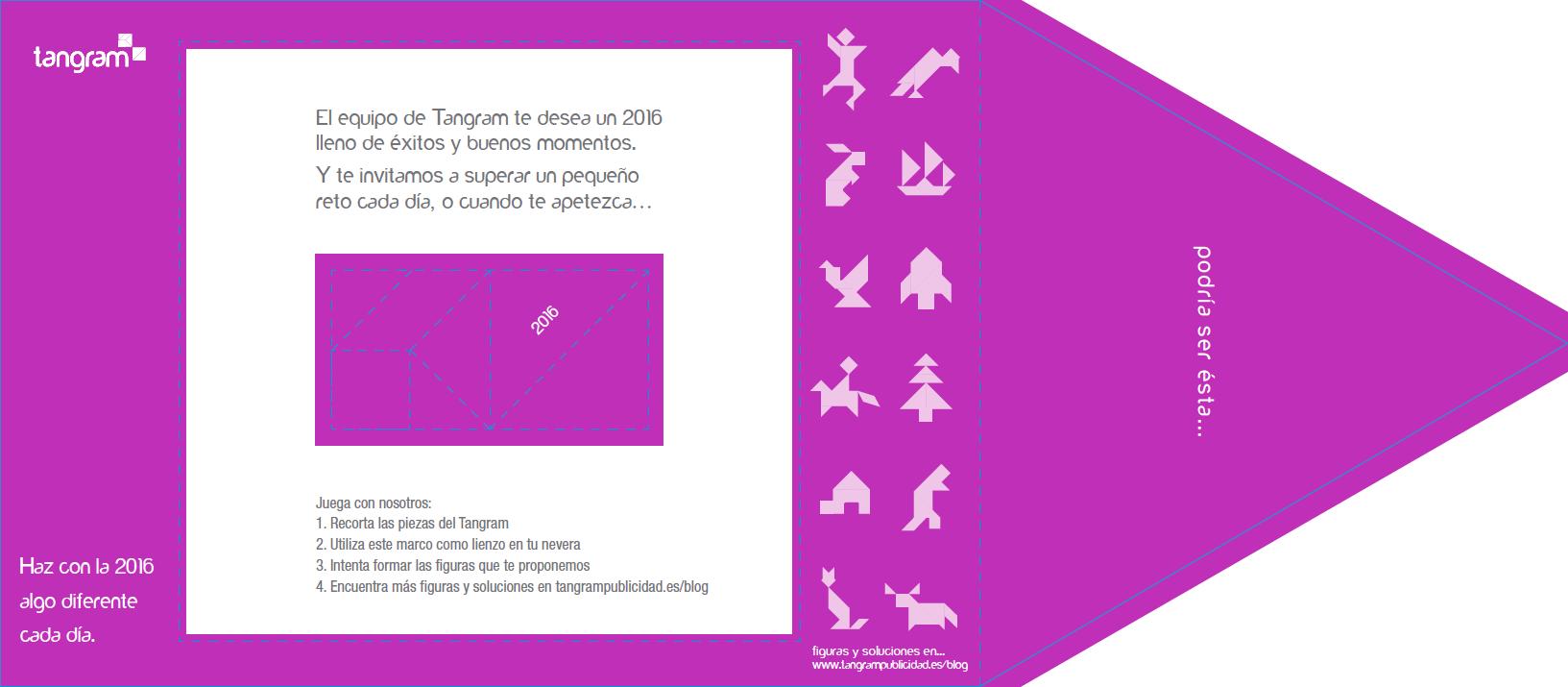 Regalo figuras XMAS Tangram
