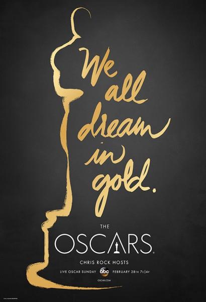 Soporte gra?fico publicidad Oscars