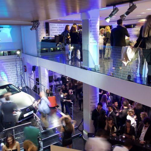 Presentación de Lexus con Bertín Osborne por Tangram