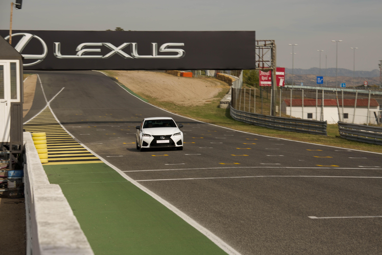 Presentación Lexus GSF - Circuito