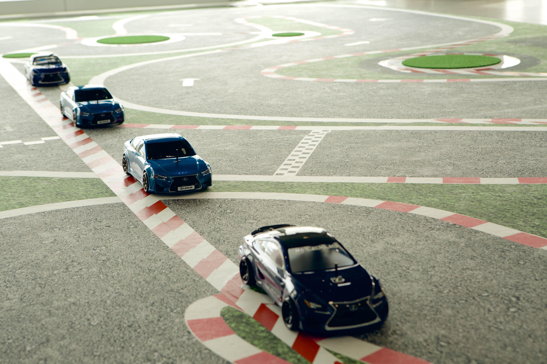 Presentación Lexus GSF - Maqueta