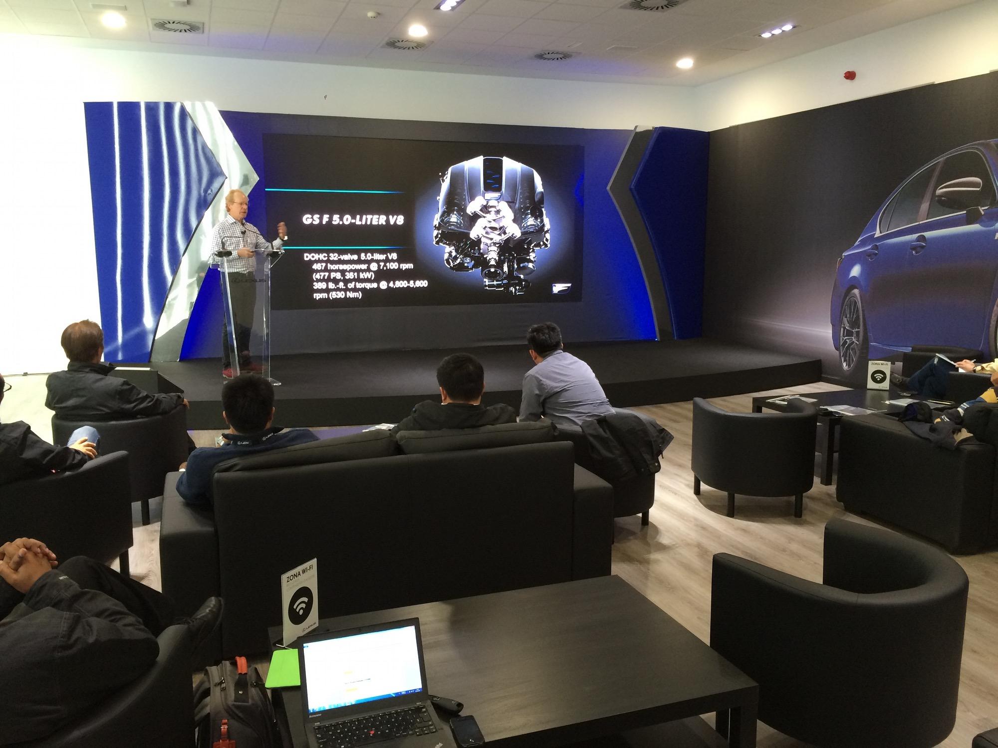 Presentación Lexus GSF