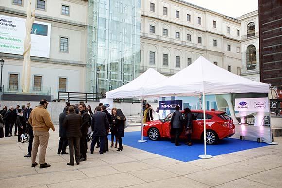 Carpa diseñada para evento Subaru España
