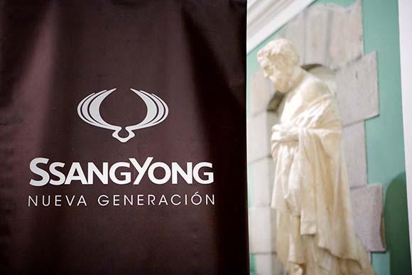 Diseño de Tangram para el evento SsangYong