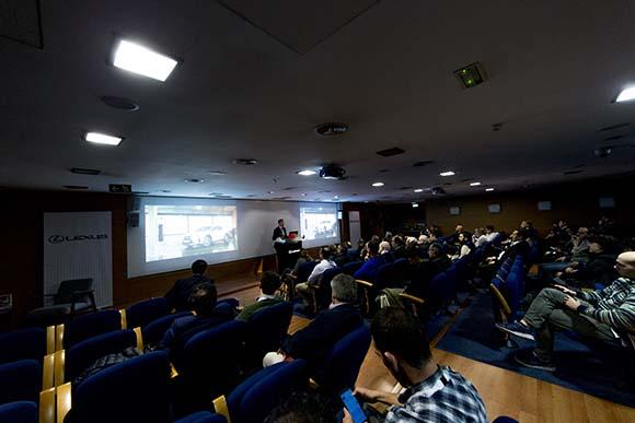 Realizamos la parte audiovisual del nuevo evento Lexus