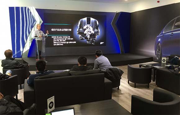 Presentación del nuevo Lexus GS F