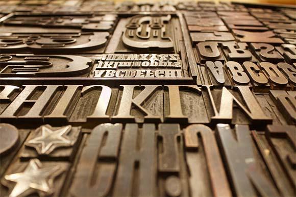 Tipografía de imprenta