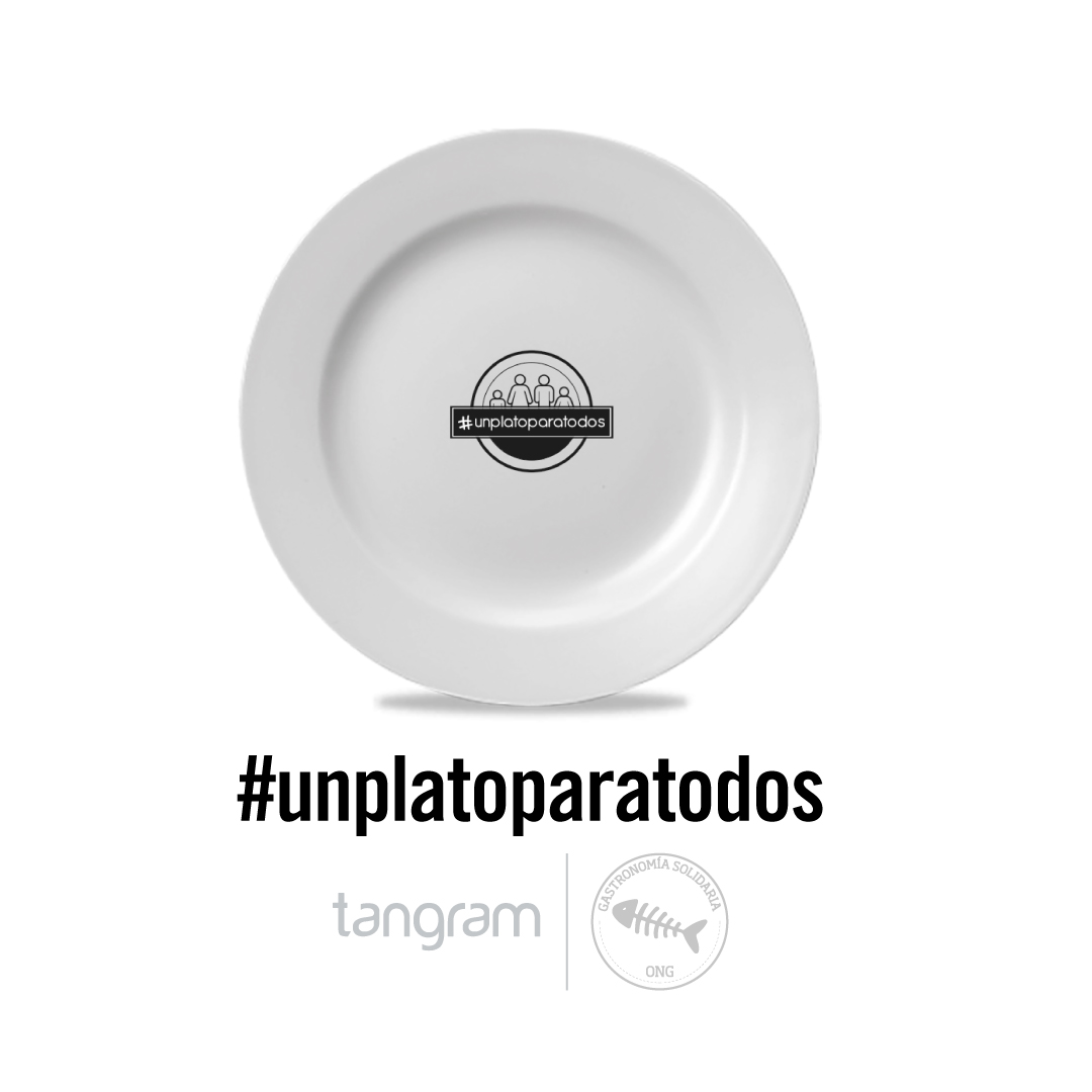 Tangram desea #unplatoparatodos