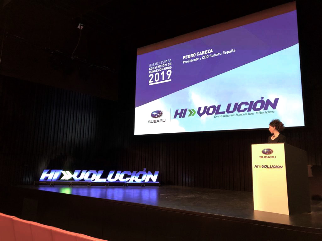 Convecion Subaru presentaciones