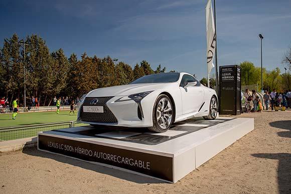 Lexus híbrido autorecargable