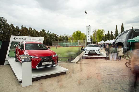 Plataformas para vehículos Lexus