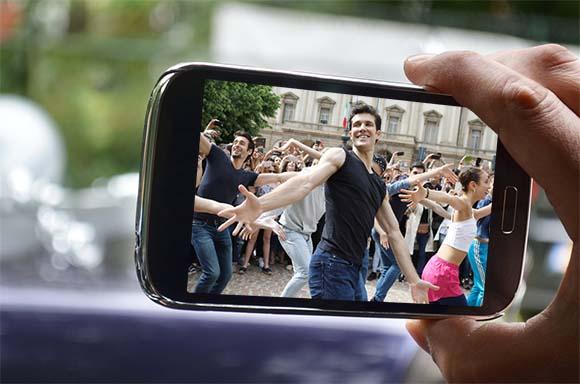 Viendo vídeo en smartphone