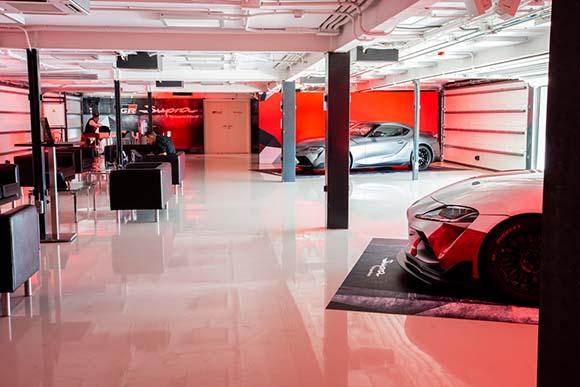 Espacio de prensa Toyota Supra