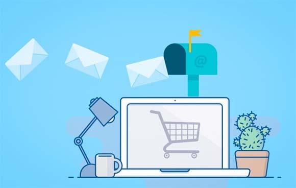 Ilustración de email marketing