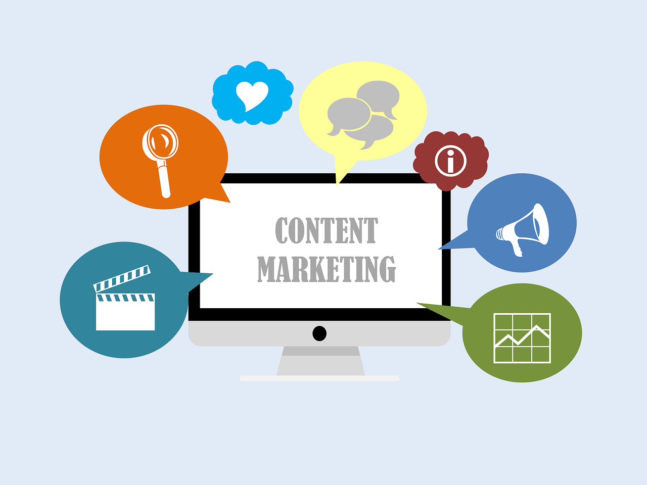 Iconos Content Marketing